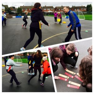 Working and Playing with Teachers in Yeadon, Leeds