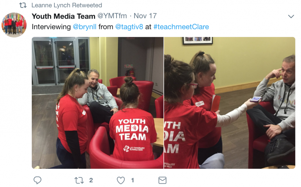 Tagtiv8 TeachMeet Clare