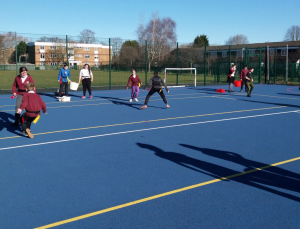 We were really impressed by the energy and creativity of the children - as well as the positivity of the staff! We even got to play some of our active learning games outside - in the sunshine!