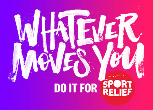 Sports Relief whatever moves you tagtiv8