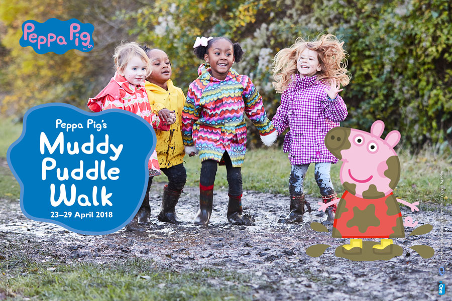 Tagtiv8 Want To Splash In Puddles - Peppa Pig's Muddy Puddle Walk